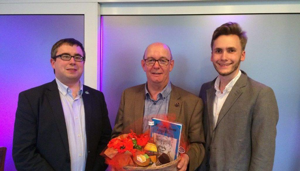 Volle Kraft für Hünxe Norbert Meesters erhält Rückenwind aus der SPD Hünxe