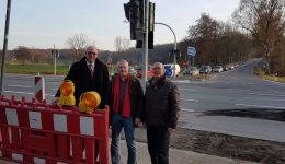Norbert Meesters MdL: Ampel an der A 3-Abfahrt Hünxe geht in Betrieb
