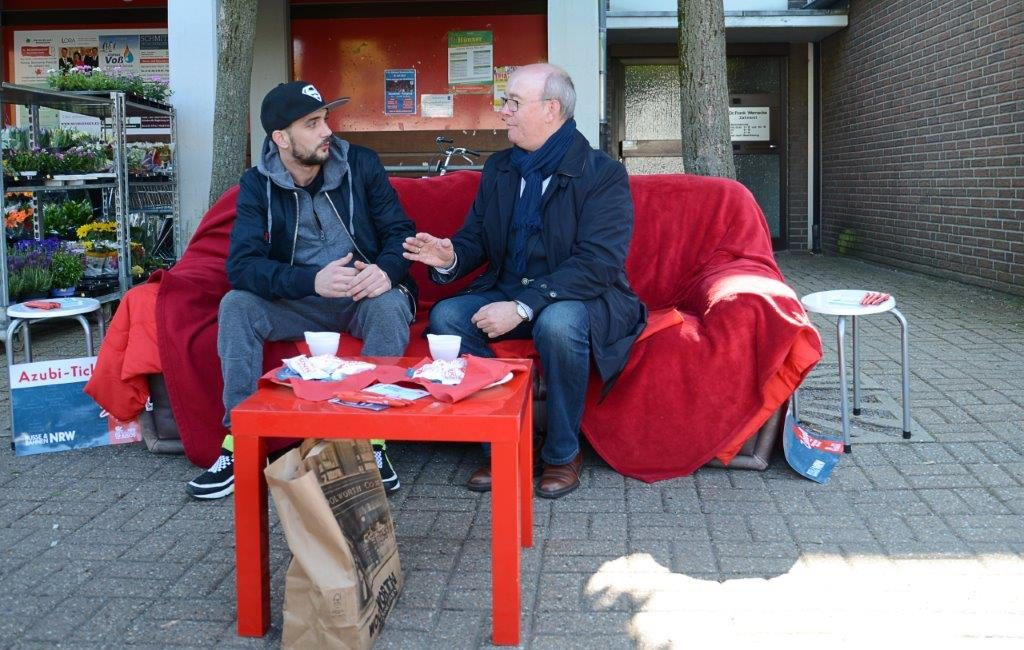 Plausch mit Norbert Meesters – Politik auf dem roten Sofa