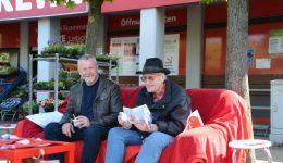 Rotes Sofa: Politik-Plausch mit Jürgen Preuß in Hünxe