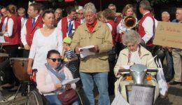 Flashmob in Hünxe – Bürger feiern das Grundgesetz