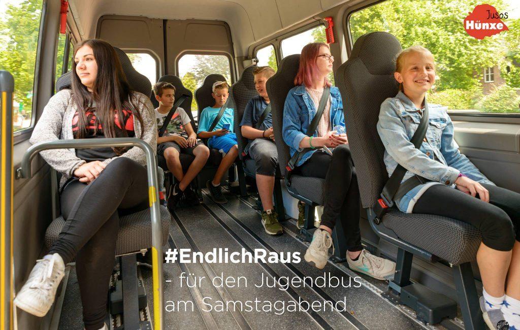 #EndlichRaus – Jusos Hünxe wollen den Jugendbus rollen lassen