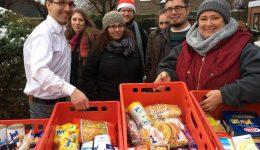 Viele Spenden trotz Schnee