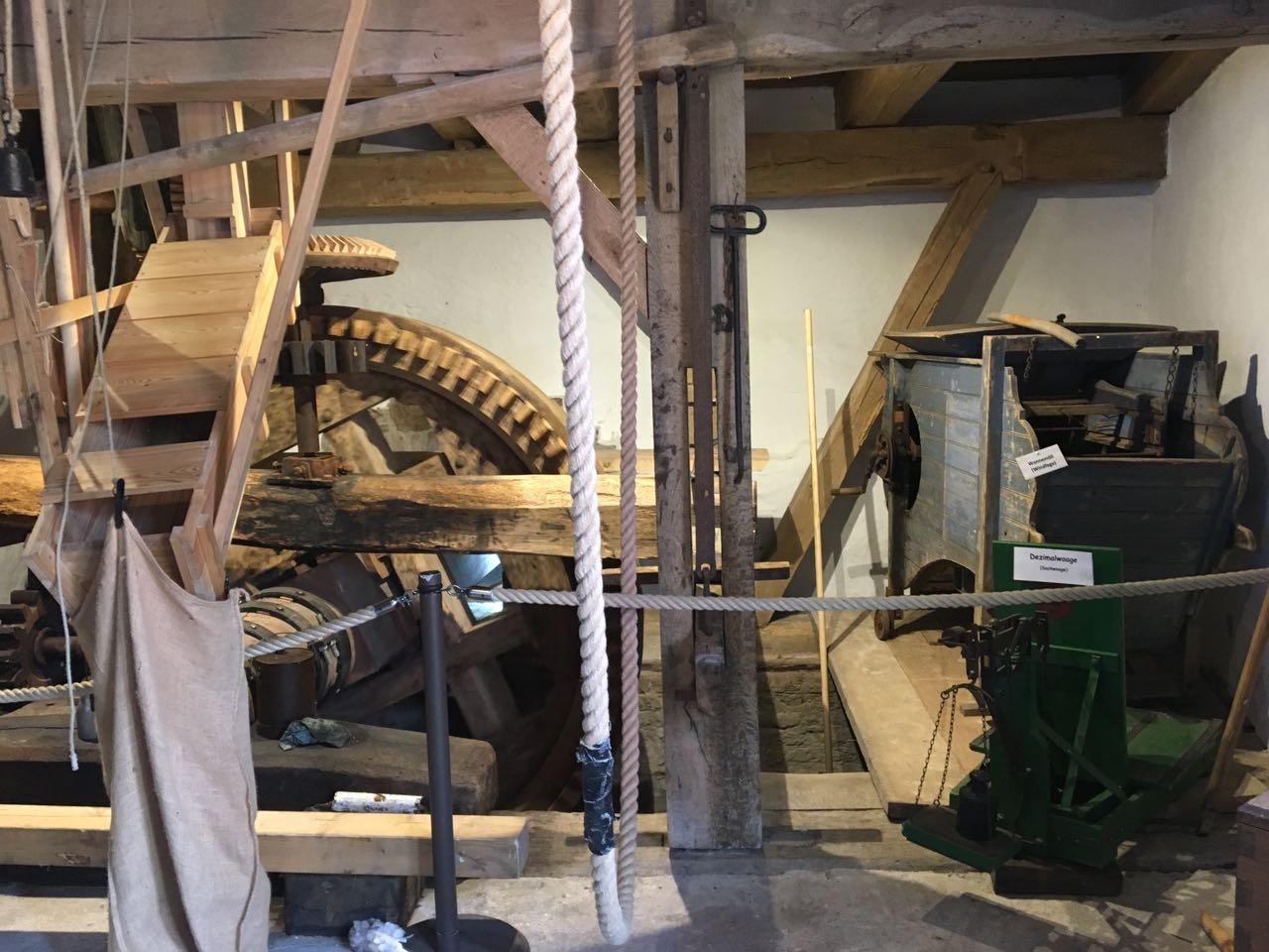 Unter anderem gab es einen Einblick in das Innenleben der restaurierten Gartroper Wassermühle.