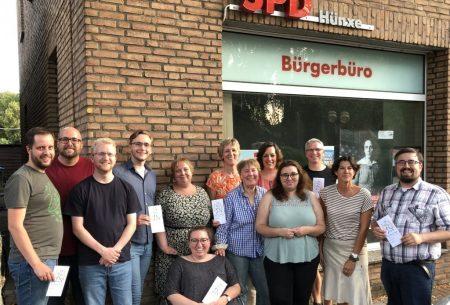 20190808 SPDHünxe_Wellcome-Projekt
