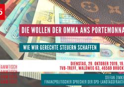 20191021 SP_RoterStammtischSteuern