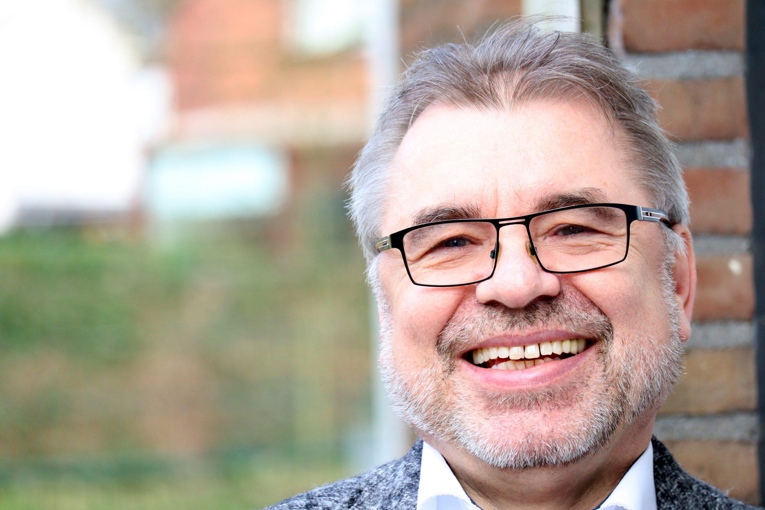 Volker Marquard will Bürgermeister werden und die Geschicke der Gemeinde lenken.