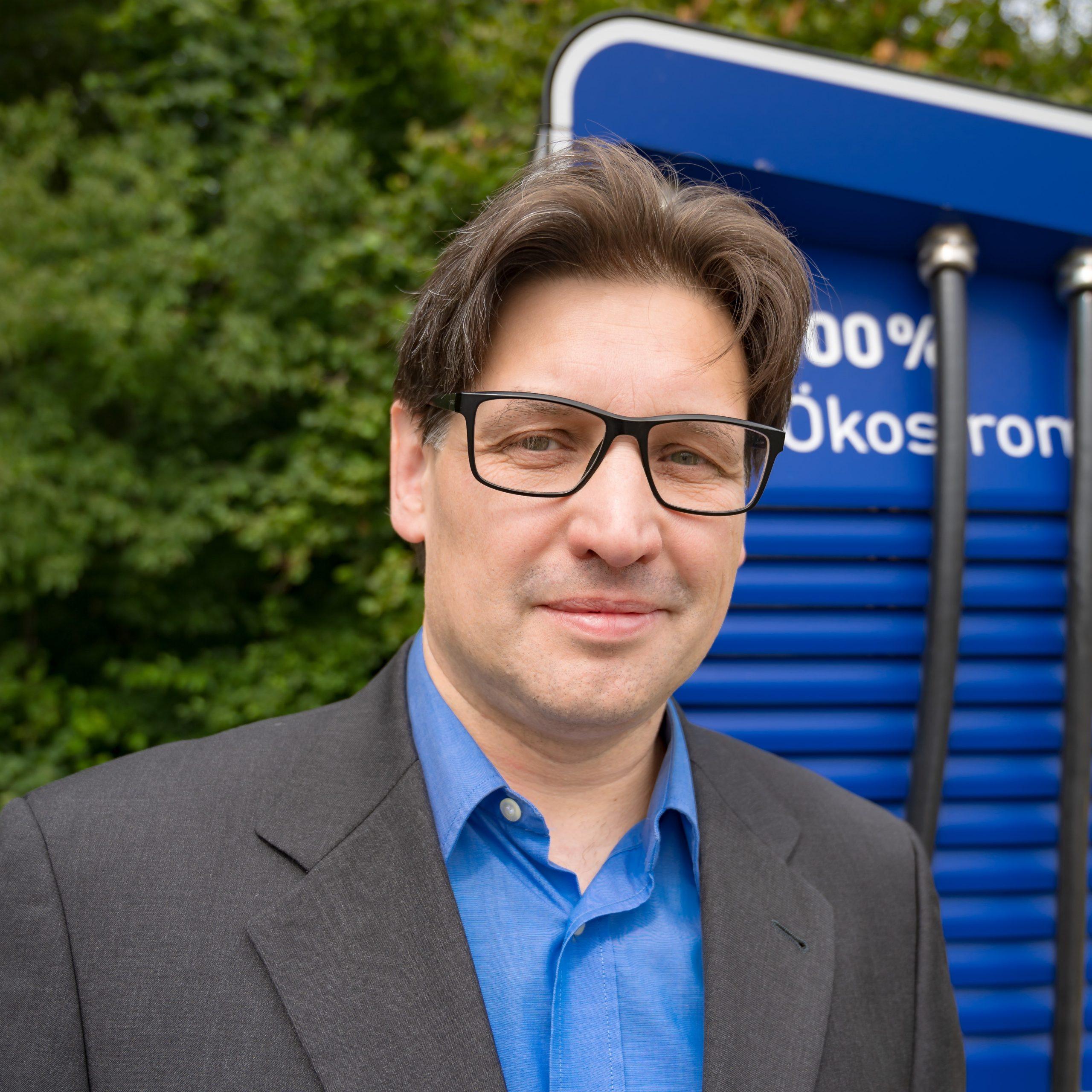 Andreas Katzer ist Kandidat für Drevenack-Süd und Krudenburg.