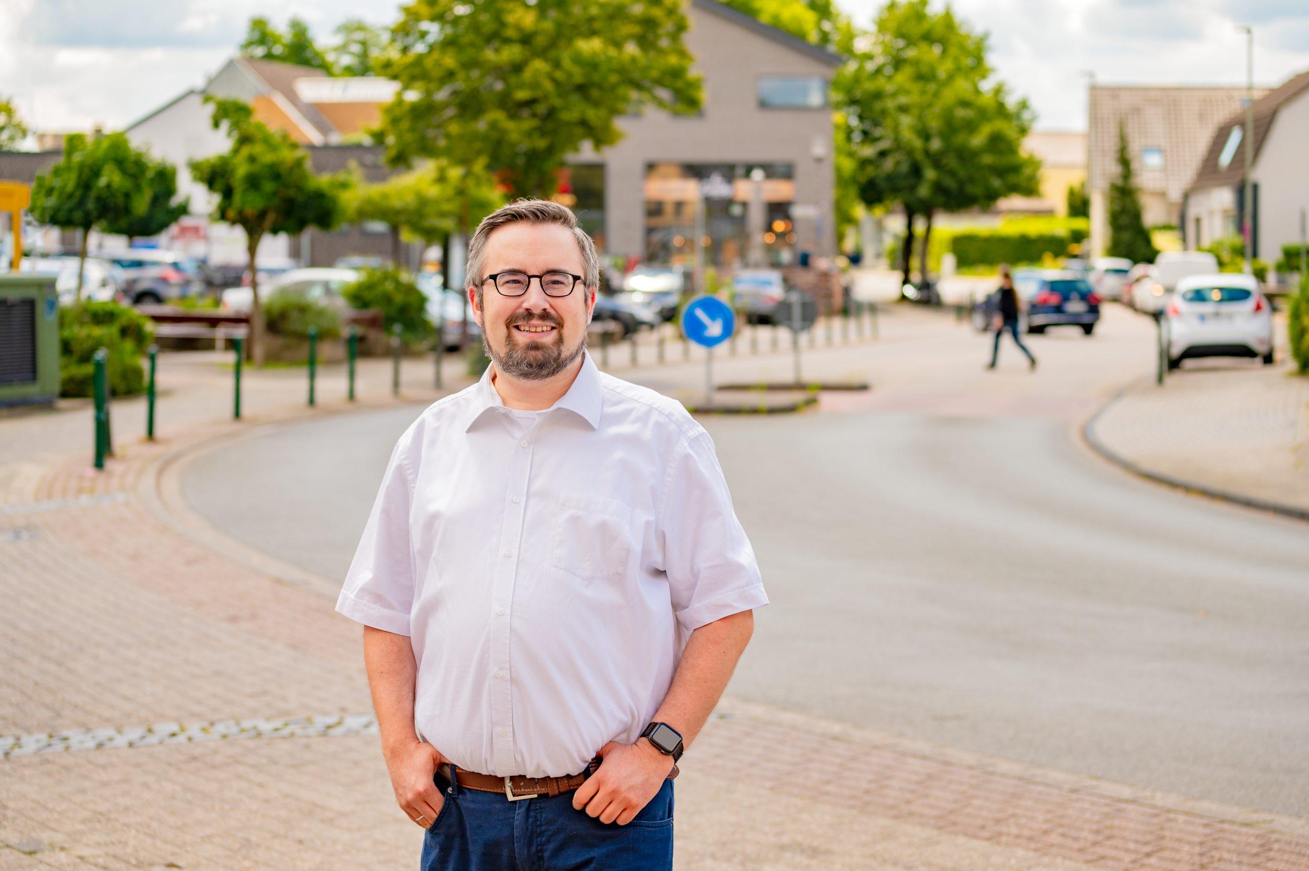 Jan Scholte-Reh, 33 Jahre, ist Vorsitzender der Hünxer SPD.